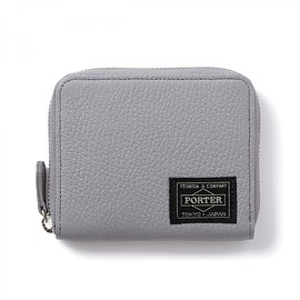 "HEAD PORTER - ""LUCCA"" WALLET GREY"