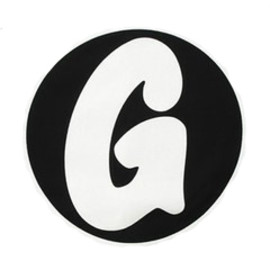 "GOODENOUGH -  ""G"" logo Sticker"