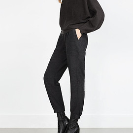 ZARA - Dark gray Trousers