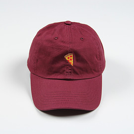 Pizza Skateboards - Emoji Hat Burgundy