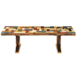 CIBONE - scrapwood table