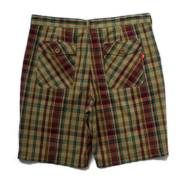 STUSSY - MFG Plaid Short