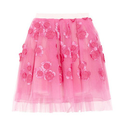 Marc Jacobs - Embroidered tulle skirt by Marc Jacobs
