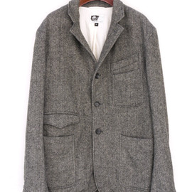 Engineered Garments - Truman Jacket,Wool Flannel Herringbone