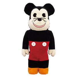 MEDICOM TOY - WORLD WIDE TOUR BE@RBRICK 400% MICKEY MOUSE