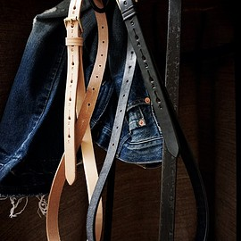Jabez Cliff - SADDLE LEATHER LONG BELT
