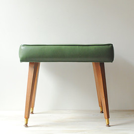 vintage - Vintage Mid Century Bench in Green