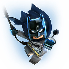DC Comics, Lego - Batman™ Minifigure (Gray)