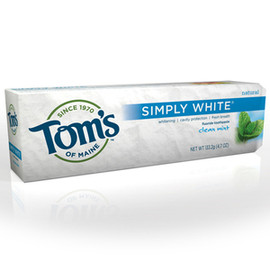 Tom's of Maine - Simply White Fluoride Toothpaste