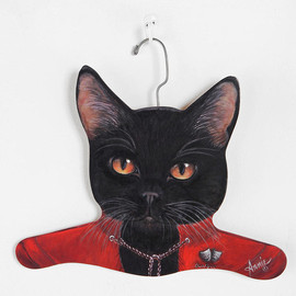 urban outfitters - Animal Clothes Hanger  Black Cat