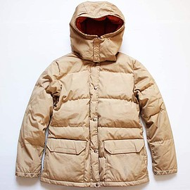 THE NORTH FACE - 80's 65/35 Brown Label Sierra Down Jacket