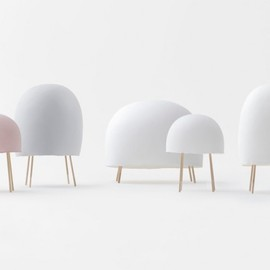 Nichetto & Nendo - Washi Paper Lamps collection