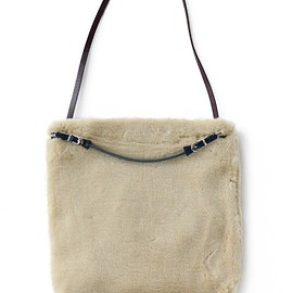 TOGA PULLA - Fur Bag (off white)
