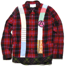 NADA. - Wool Check Moutain Shirts