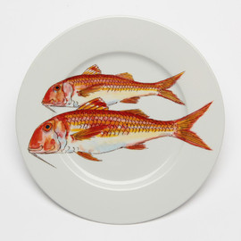 JERSEY POTTERY - RED MULLET