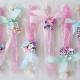 Crystal pops/Rock candy