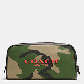 COACH - Weekend Travek Kit - Classic Camo