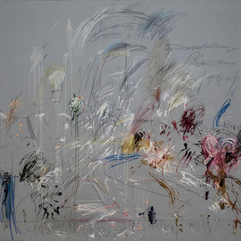 Cy Twombly - School of Athens , 1964