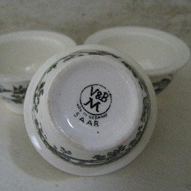 Luulla - Villeroy and Boch Vintage Made in Germany Egg Cup Trio