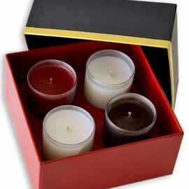 ASSOULINE - Set of Four Library Candles