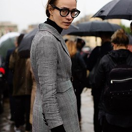 Snap - On the Street...After the Gucci Show, Milan