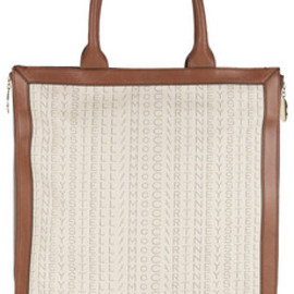 Stella McCartney - Monogrammed cotton-canvas tote
