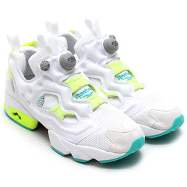 Reebok - Reebok INSTA PUMP FURY TIMELESS STEEL/WHITE/SOLAR YELLOW