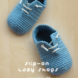 Kittying - Slip-On Baby Lazy Shoes Crochet PATTERN