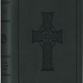 Holy Bible: English Standard Version, Olive, Trutone, Celtic Cross Design, Compact Bible