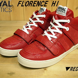 ROYAL ELASTICS - Florence Hi RED