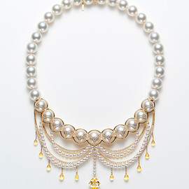 TASAKI - Peplum Chandelier Necklace