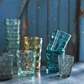 west elm - Dimpled Glassware Set