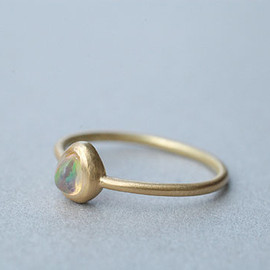 source - Fire Opal Ring