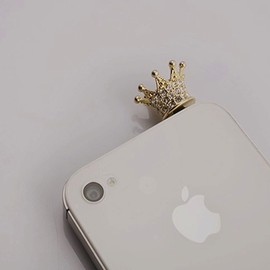 Crown Earphone Jack Accessory