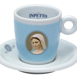 Inpetto - Madonna Coffee Cup & Saucer