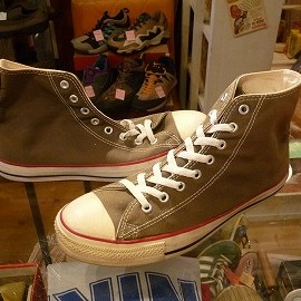 "converse - 「<used>90's converse ALLSTAR HI olive""made in USA"" size:US9/h(28cm) 8800yen」販売中"