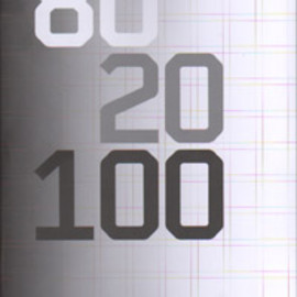 "Nijhof & Lee - ""80 20 100 - Wim Crouwel 100 Designs"""