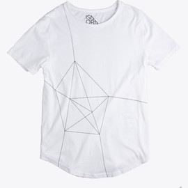 ISAORA - Geo-Light Printed T-Shirt