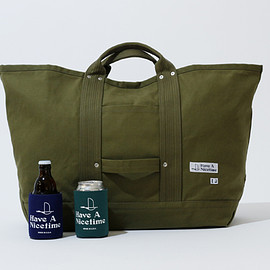 HAVE A Nicetime - HANt別注 ENDS and MEANS エンズアンドミーンズ Tool Bag Khaki × クージー2個セット