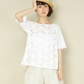Balcony and Bed - COTTON EMBROIDERY LACE & LACE BL