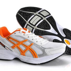 Mens Asics Gel Maverick 2 Whit Orange Shoes