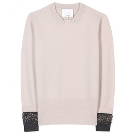 3.1 Phillip Lim - ACCENTED KNIT PULLOVER