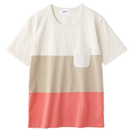 Aloye - Tricolore #1 / Short-sleeve Pocket T-Shirt