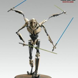 StarWars - General Grievous Premium Format Figure side show