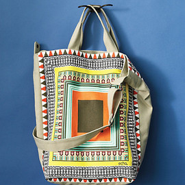 Anthropologie - Square Gradients Tote