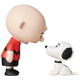 MEDICOM TOY - UDF PEANUTS シリーズ9 CHARLIE BROWN & SNOOPY 50's