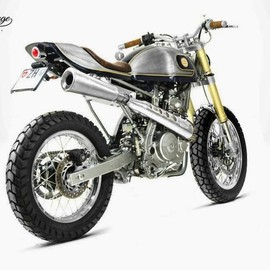 South Garage Cafe - Honda NX650 Dominator 'Kalipso'