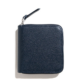 Whitehouse Cox - Whitehouse Cox/LOFTMAN別注 S1980 Zip Wallet-Navy