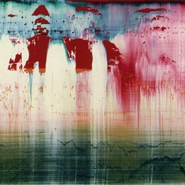 GERHARD RICHTER - Fuji ,1996(oil on alucobond)