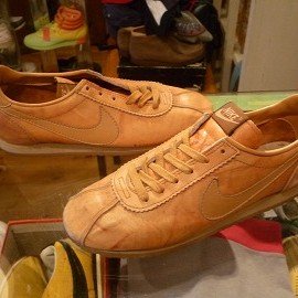 """NIKE - 「<used>70's NIKE VILLAGE brown""""made in USA"""" size:W's US8(25cm) 12800yen」完売"""